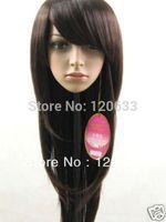 Wholesale Hair Nature 100% charming  Les femmes  en perruque brune