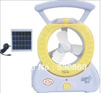 Mini portable solar fan Portable solar - powered fan