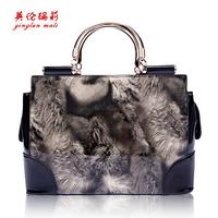 Female bag latest maomao pattern handbag fashion female package. Free shipping