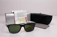Hot Selling Men's Woman's Sun Glasses 2140WAYFARER Sunglasses Acetate Frame Black White Eyewear Free Shipping