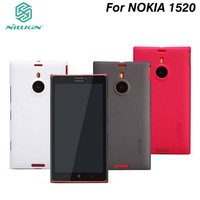 NILLKIN Super Frosted Shield case for Nokia Lumia 1520 With Screen protector and Retailed package.Free shipping