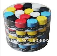 Free Shipping - 60pcs/lot Tennis Racquet Grips/Overgrip Bucket badminton racket
