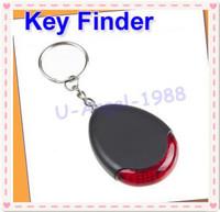 Register free shipping!! 10pcs/lot Sound sonic Voice Control Key Finder Locator Chain Keychain -AJ512