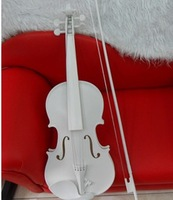 Violin wedding dress photography props violin props decoration props white violin