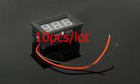 Freeshipping Digital display meter V27D-T1 3.2-30V voltmeter 10pcs/lot