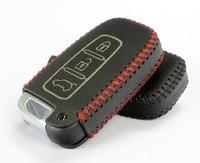 IX35 Sonata 2013 Elantra 2012 Genesis coupe Hyundai Genuine Leather Key remote control Bag Key bag Car keys protective holster