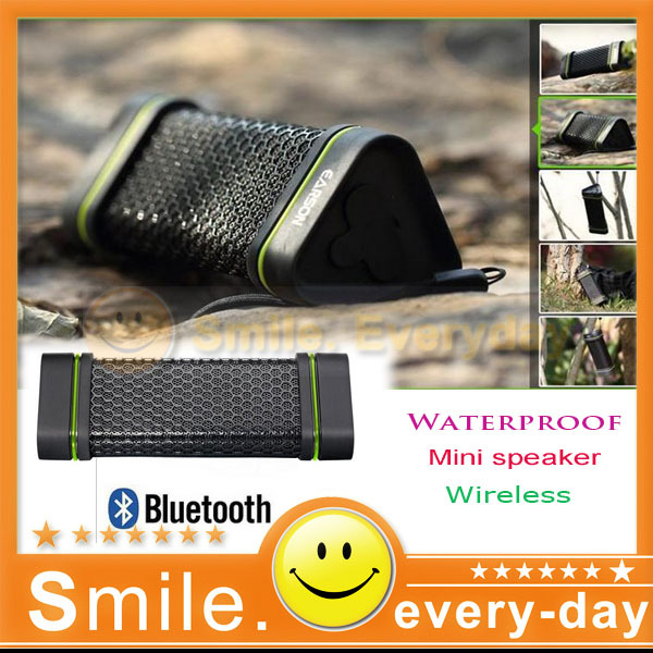 New 2013 Wireless Bluetooth caixa de som Stereo Outdoor earson speaker Waterproof Anti-scratch portable speaker loudspeakers(China (Mainland))