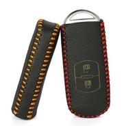CX-5 Mazda3 Mazda 2 2012 CX-7 2011 2.5L Mazda 6 2011 Genuine Leather Key remote control Bag Key bag Car key protective holster