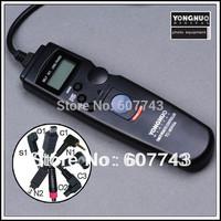 free shipping Yongnuo Timer Intervalometer Remote C1 for Canon 600D/650D/700D/550D/60D 1100D 1000D 500D/450D/400D/350D/300D