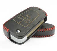 For Cruze Chevrolet Genuine Leather Key remote control Bag Key bag Car key protective holster