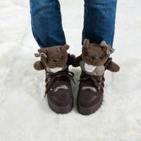 FREE SHIPPING Bear shoes platform shoes platform fashion high women's elevator shoes