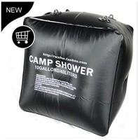 40L Outdoor Solar heat Camping Shower Bag Solar Shower Water bag