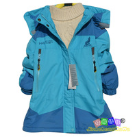 3316 winter children's clothing female child outdoor child outdoor jacket girl plus velvet thickening windproof outerwear