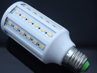 2014 Direct Selling Top Fasion Chandelier 1x15w E27 60 Led 5630 Smd / 220v Corn Bulb Light Maize Lamp Lighting Warm/cool White