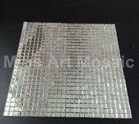 [Mius Art Mosaic]  Plain silver mirror glass mosaic tile for kitchen backsplash Z10-09