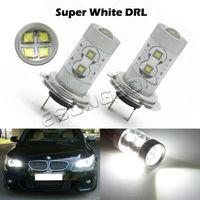 2pcs 60W LED Car Fog light H4 H7 1156 1157 9005 9006 H11 Car Turn Signal Reverse Tail Light Bullb