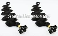 "12""-30""inches Keratin Nail Tip U-Tip Brazilian virgin body wavy human hair extension *200pieces/100pieces*"