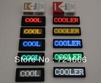 Asram led board sign scrolling text. usb rechargeable led scrolling badge. led scrolling rechargeable led name badge