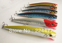 20g/12.5cm Minnow Bait  Fishing lure Popper Bait Hard Plastic Bait Floating type China Hook for Salt / Fresh water fishing