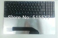 Free Shipping For ASUS K50A K50C K50I K50IJ K50IE K50IN Laptop Keyboard Russian Black