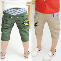2014 summer boys clothing baby child capris 5 pants kz-1756  sxl