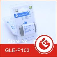 Wholesale GLE LOGO 1000pcs 700mAh NI-MH Cordess Phone Rehcargeable Battery 3.6v HHR-P103 P103 for Panasonic