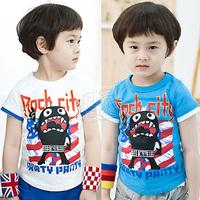 2014 summer boys clothing baby child short-sleeve T-shirt tx-1650  sxl