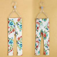 2014 spring girls clothing baby child legging long trousers - kz-3098  sxl