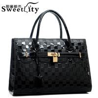 Women's shoulder bag handbag new boom in Europe and the fashion lady handbags aslant ladies handbags. Free shipping