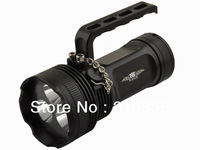 2013 Newest 7 Mode 3 x CREE XML-T6 LED Flashlight Black, Free shipping + Drop shipping