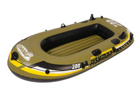 Fishman 200  inflatable 2preson boat set  Fishing boat  PVC boat Motor boat  Infate size185X98X28CM