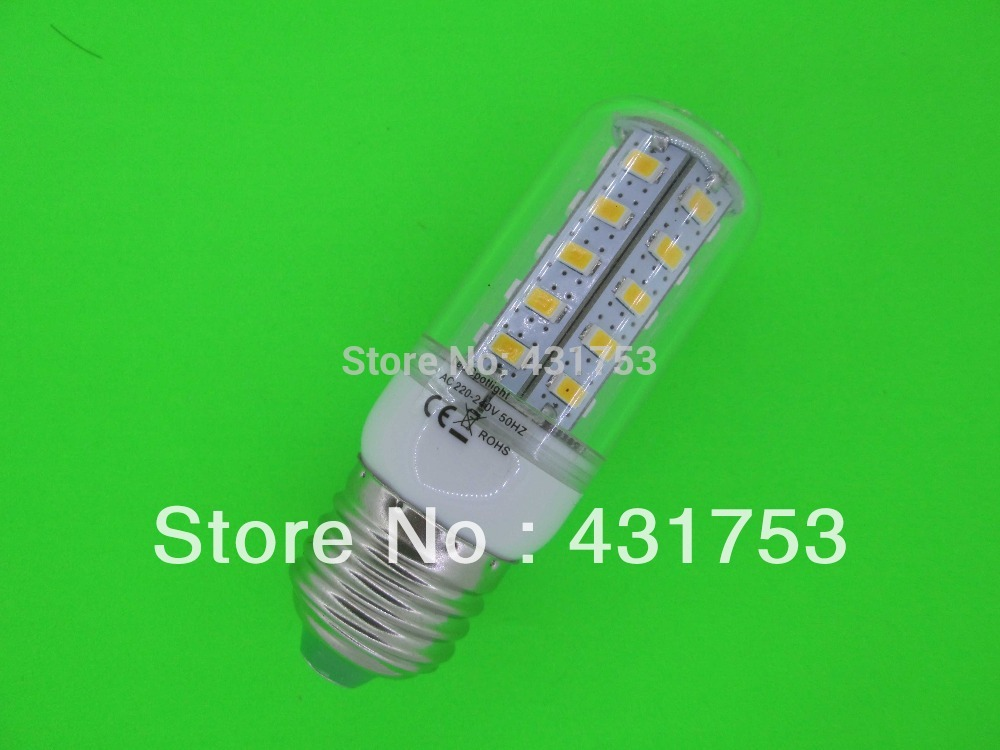 NEW LED Lamp 5730 36LED Lamp 10W E27 LED Corn Bulb Cold white / Warm White 360 Degree Light Bulb Lamp Energy Saving(China (Mainland))