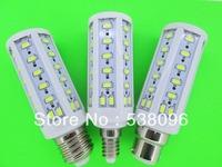NEW E27/E14/B22 Warm White / White  50 SMD 5730 15W LED Corn lamp LED 15W Energy Saving Light Lamp Bulb 110V/220V/AC