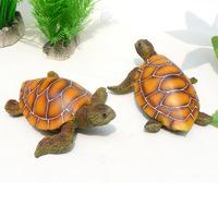 Tortoise resin little turtle fish tank aquarium decoration ocean decoration turtle