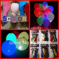 Free Shipping competive price fixed led light up balloon/led light balloon helium/100PCS/LOT