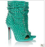sexy peep-toe pumps red bottom high heels for women 2014  high heels pumps women thin heels ladies pumps for women brand