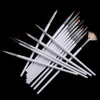 5sets/lot  ,16pcs'set professional nail art brush set  ,Wholesale nail art design brush + free shipping Via DHL/EMS...