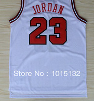 Michael Jordan #23 white Stitched Basketball Jersey Free Shipping