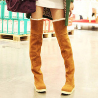 size ;35--40 Autumn and winter boots snow boots gaotong martin boots platform shoes women's over-the-knee 25pt knee-high boots