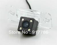 HD CCD 4 led nightvision Special Car Rear View camera for VW CAYENNE TIGUAN TOUAREG SANTANA PASSAT /Golf V Variant SKODA FABIA
