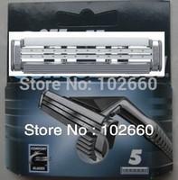 Free Shipping! Grade AAA Sensor Excel 5s Razor Blades For Men (5pcs/lot) best price