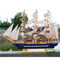 Sailing boat large fashion model commercial holiday gifts
