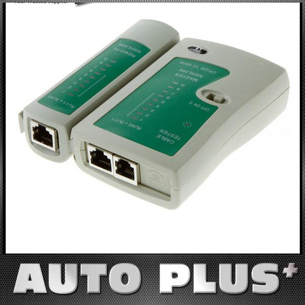 RJ45 RJ11 RJ12 CAT5 UTP Network LAN USB Cable Tester Networking Tool Drop Shipping Wholesale(China (Mainland))