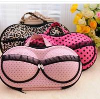 Womens Portable Protect Bra Underwear Lingerie Travel Organizer Storage Bags Box       3 Styles