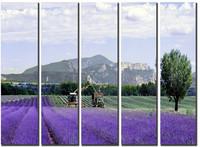 Huge Canvas Prints Realist Modern Lavender Landscape Painting Picture Printed On Canvas Fine Art Home Decor Wall Art SJ( 966)