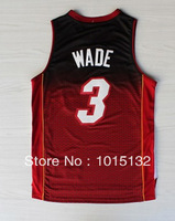 2013 Resonate Fashion Dwyane Wade jersey Miami #3 New Material Basketball Shirt Embroidery Logos Free Shipping