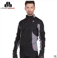 Hot Sale!2013 New Sobike Cycling Bicycle Bike Riding Winter Windproof Thermal Fleece Jacket - Nio 5  degree
