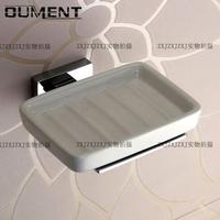 Free shipping Bathroom copper ceramic soap dish fashion glass soap holder sanitary ware bathroom accessories wholesale