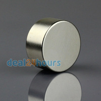 1PC Big N35 Super Strong Cylinder Round 30mm x 15mm Magnets Disc Rare Earth Neodymium Free Shipping