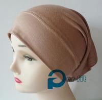 tube cap turban Underscarf Jersey cotton on sale 5 Colours 50pc/lot free ship
